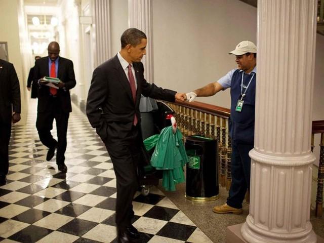 Hơn một nửa số người được hỏi muốn ông Obama quay lại làm tổng thống. Ảnh: Pete Souza/Nhà Trắng.