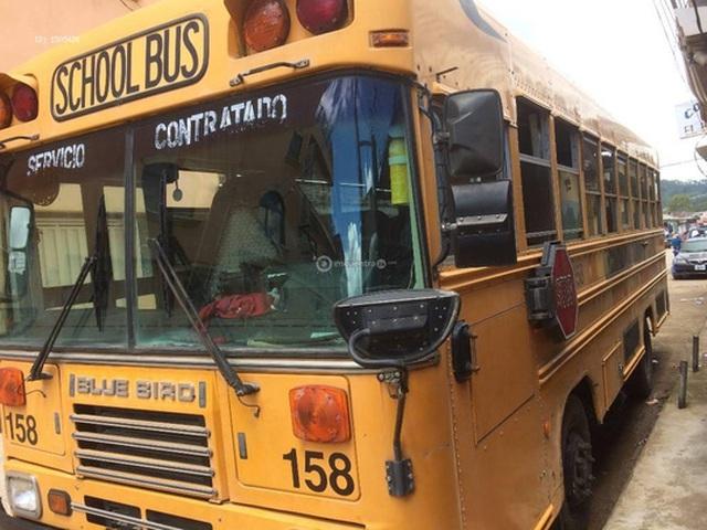 Một chiếc xe buýt ở Honduras. Ảnh: ENCUENTRA24