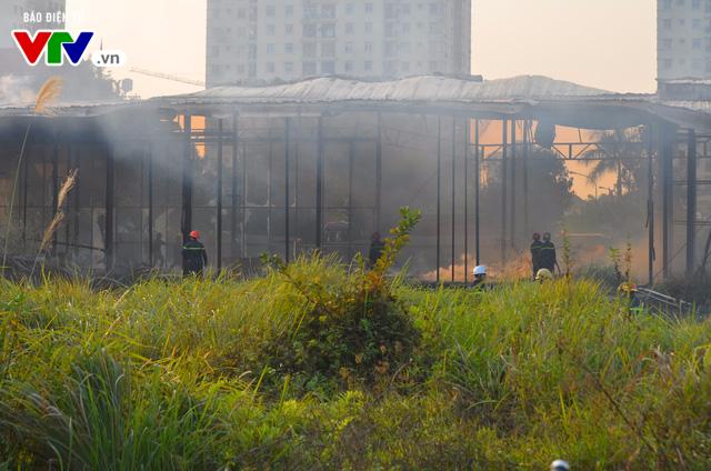 Khu nhà được dựng lên tại bãi đất cháy tan hoang