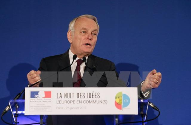 Ngoại trưởng Pháp Jean-Marc Ayrault. (Nguồn: EPA/TTXVN)