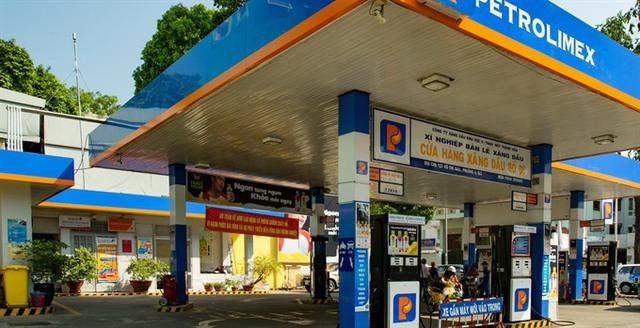 Cửa hàng xăng dầu Petrolimex