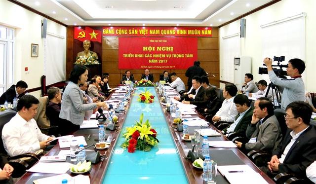 Thứ trưởng Bộ NN-PTNT Vũ Văn Tám chủ trì hội nghị