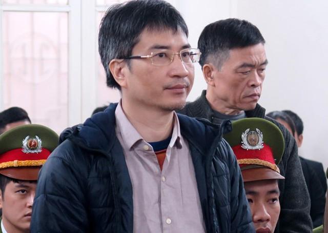 Bị cáo Giang Kim Đạt tại tòa. Ảnh: Vân Thanh.