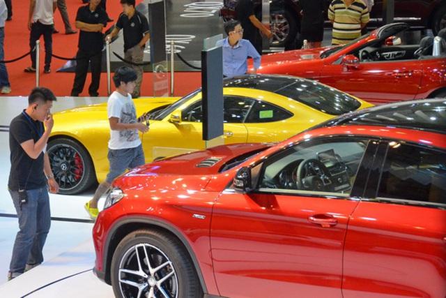 Ô tô nhập khẩu đang dần chiếm lĩnh thị trường nhờ chất lượng và giá cả cạnh tranh Ảnh: TẤN THẠNH