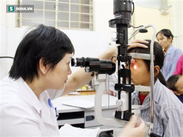 Nhược thị có thể dẫn đến mù mắt.