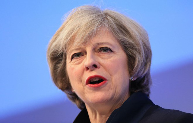 Thủ tướng Anh Theresa May. (Nguồn: PA)
