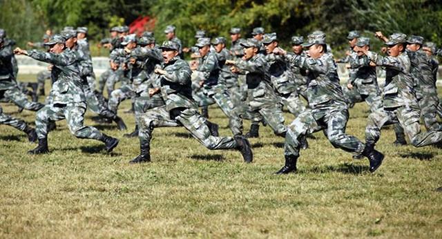 Binh sỹ quân đội Trung Quốc. (Nguồn: AFP)