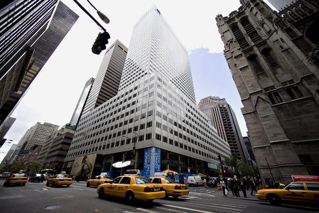 Tòa nhà văn phòng của gia đình Kushner ở số 666, Đại lộ Thứ 5 của New York. Ảnh: Getty.
