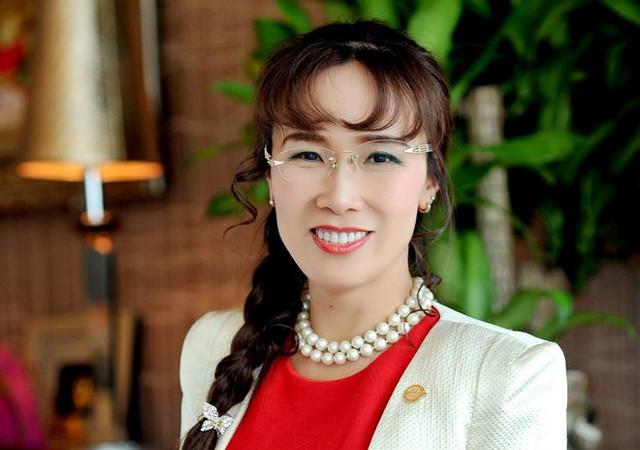 Bà Nguyễn Thị Phương Thảo, CEO của Vietjet Air được Forbes ghi nhận là tỷ phú USD thứ hai Việt Nam. Ảnh: Forbes.