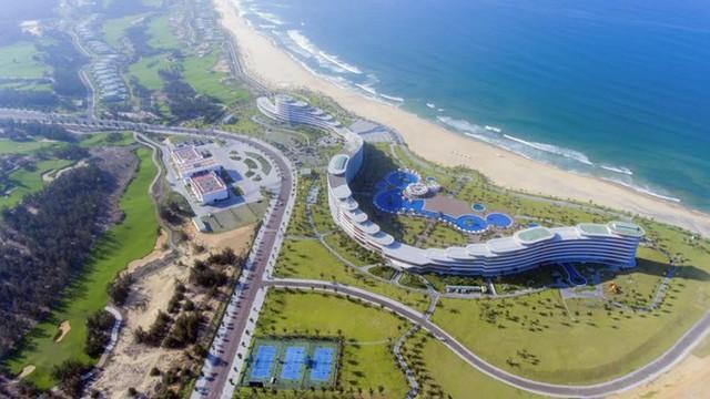 Một góc quần thể du lịch FLC Quy Nhon Beach & Golf Resort.