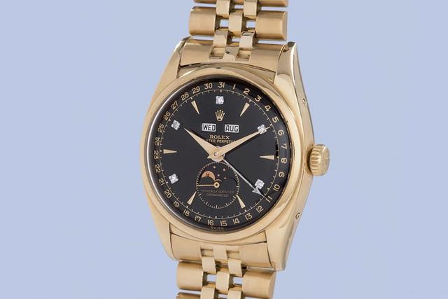 Chiếc Rolex Reference 6062 có tên Bảo Đại chuẩn bị được bán đấu giá