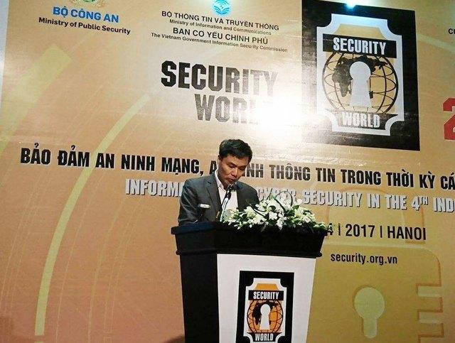 Đại tá Đỗ Anh Tuấn, Phó Cục Trưởng Cục cảnh sát phòng chống tội phạm và công nghệ cao, Bộ Công an