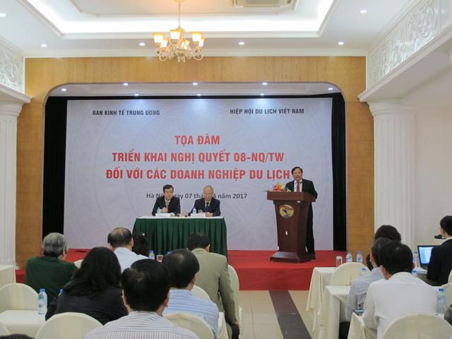 Nghị quyết 08 đề ra mục tiêu đến năm 2030 du lịch trở thành ngành kinh tế mũi nhọn của Việt Nam. Ảnh H.M