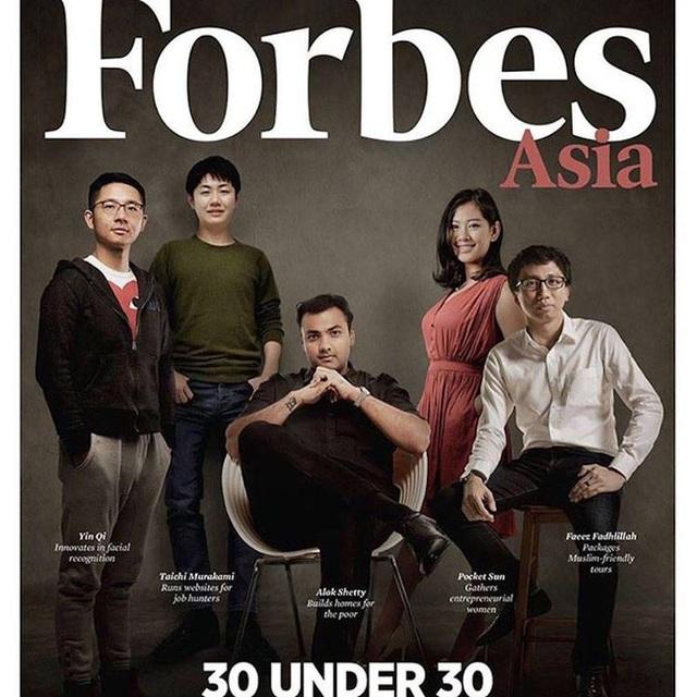 Sun là cô gái duy nhất trong lĩnh vực đầu tư mạo hiểm xuất hiện trên trang bìa tạp chí Forbes