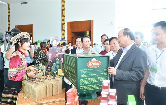 Thủ tướng Nguyễn Xuân Phúc khẳng định, không chỉ trong lịch sử, trong giai đoạn phát triển mới, Nhà nước ta luôn xác định y học hiện đại kết hợp với y học cổ truyền
