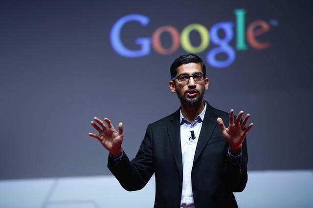 Chân dung CEO của Google, ông Sundar Pichai.