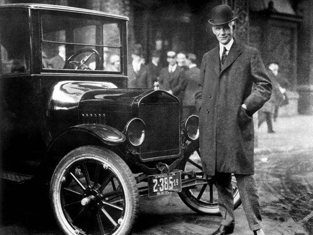 Henry Ford và mẫu xe model T