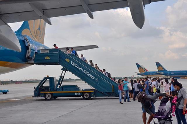 Kinh phí để nâng cấp tổng thể sân bay quốc tế Tân Sơn Nhất ước tính khoảng 19.300 tỉ đồng Ảnh: TẤN THẠNH