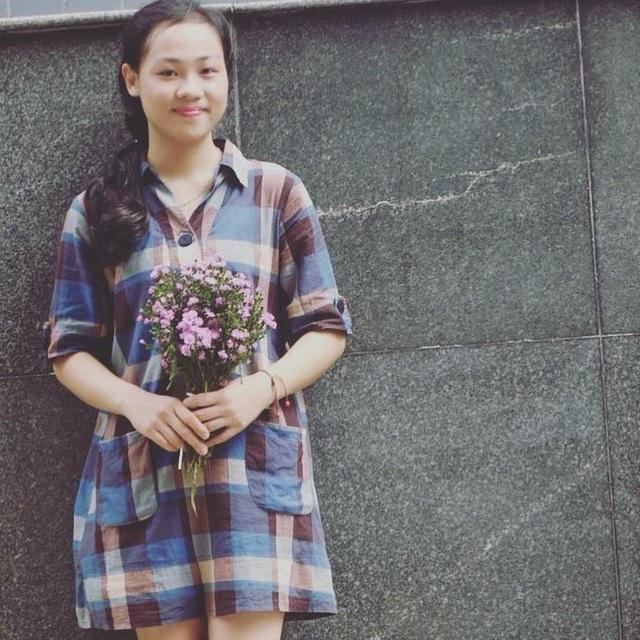 Chân dung sinh viên Nguyễn Thị Quý.