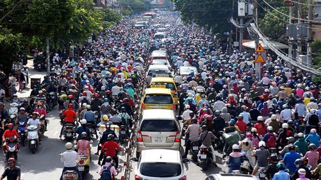 Hiện ở TP.HCM có hơn 7 triệu xe máy