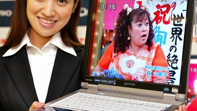 Toshiba từng là hãng tạo ra xu thế từ laptop đến chip nhớ