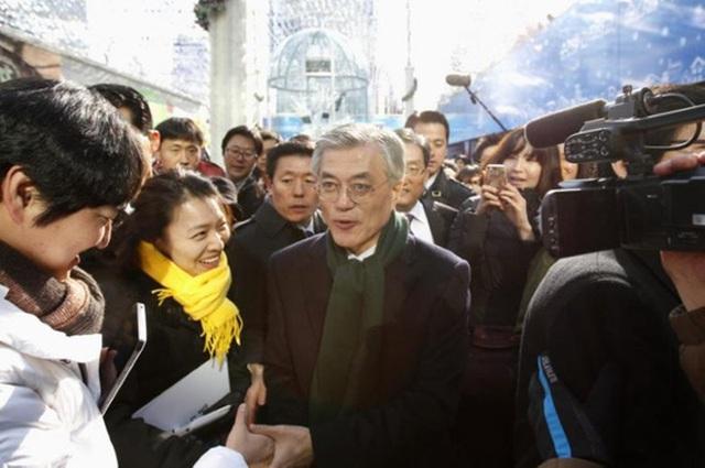 Tân Tổng thống Hàn Quốc Moon Jae-in. Ảnh: REUTERS
