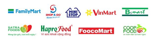 Một số chuỗi cửa hàng tiện lợi tại Việt Nam. Ảnh: Liên Hương