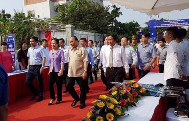 Thủ tướng dự lễ khởi động dự án hơn 3.400 tỉ