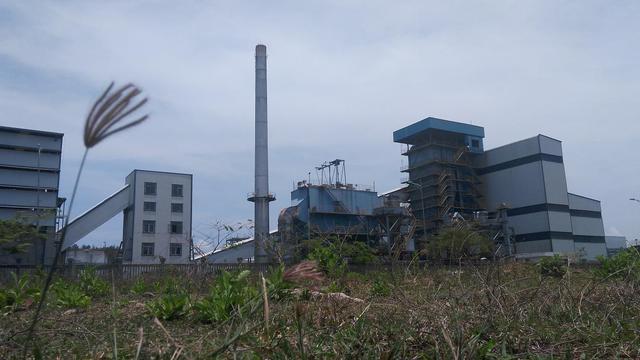 Nhà máy nhiên liệu sinh học Dung Quất gần 2.000 tỷ đang nằm đắp chiếu. Ảnh: L.Bằng