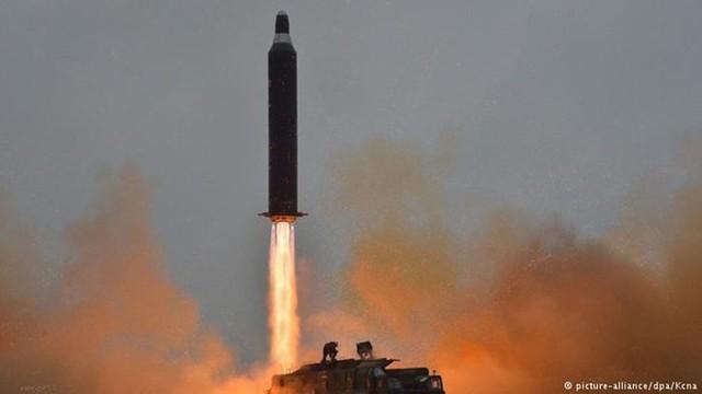 Một vụ phóng tên lửa của Triều Tiên. (Nguồn: KCNA)