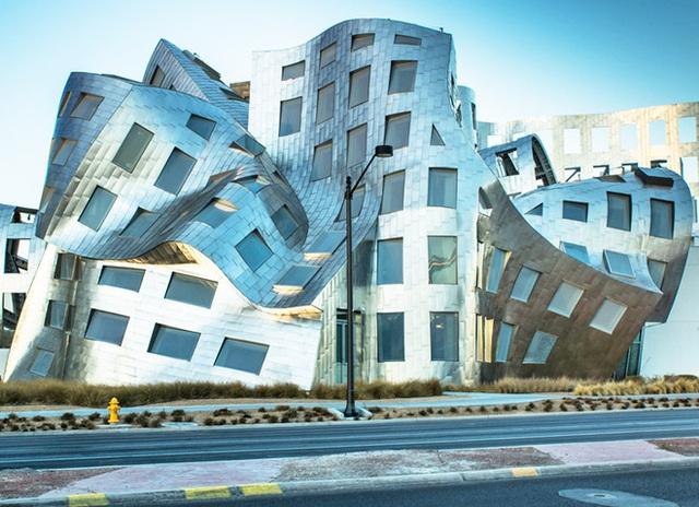 Tuyệt tác của kiến trúc sư Frank Gehry.