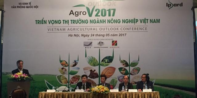 Hội thảo Triển vọng thị trường ngành nông nghiệp Việt Nam