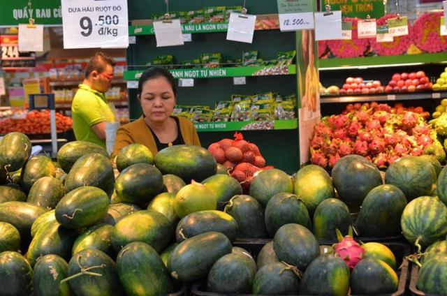 Trái cây Việt Nam trong hệ thống Big C Ảnh: Tấn Thạnh