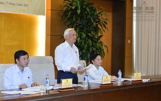 Phó Chủ tịch QH Uông Chu Lưu