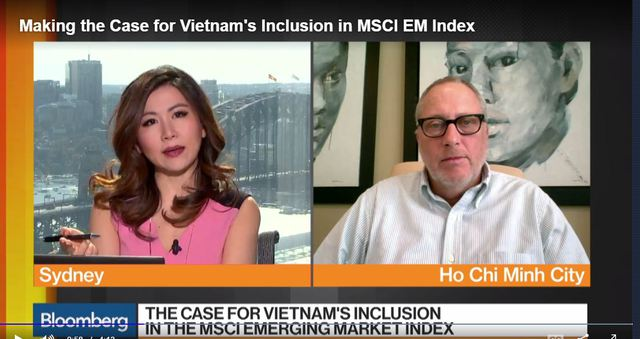 Ông Kevin Snowball trả lời phỏng vấn Bloomberg