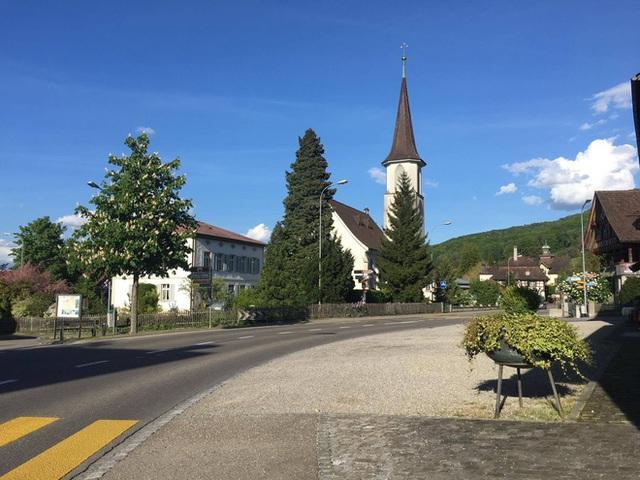 Thành phố Luzern nơi An đang sống và du học.