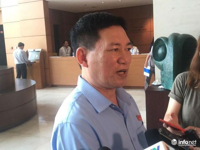 Ông Hồ Đức Phớc, Tổng Kiểm toán Nhà nước, đoàn ĐBQH tỉnh Nghệ An.