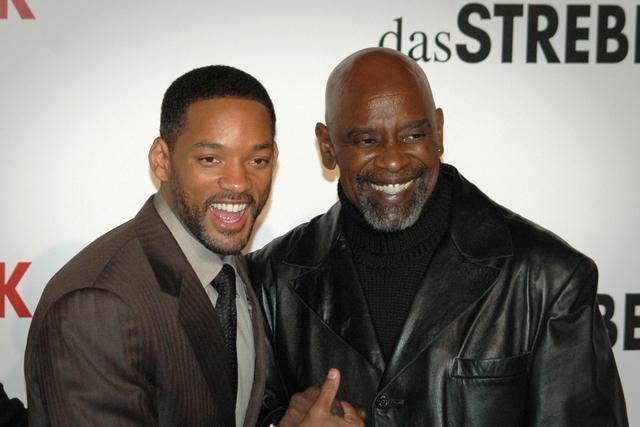 Chris Gardner (trái) và diễn viên Will Smith