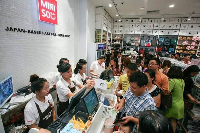 Cửa hàng Miniso ở Indochina Plaza