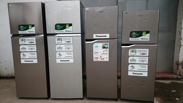 Tủ lạnh cũ móp cửa được rao bán nhiều trên mạng kèm theo lời quảng cáo hàng mới 100%.