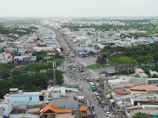 Dự án đường song song quốc lộ 50 nối huyện Nhà Bè đến huyện Cần Giuộc, Long An vừa được Chính phủ bổ sung vào quy hoạch xây dựng. Ảnh: HTD