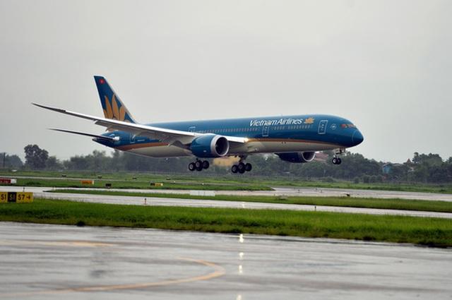 Máy bay thế hệ mới của Vietnam Airlines Ảnh: NGỌC HẰNG
