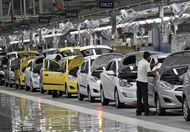 Lượng ô tô nhập khẩu từ Ấn Độ giảm thấp.