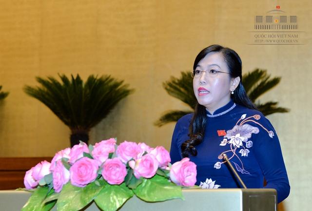 Trưởng Ban Dân nguyện Nguyễn Thanh Hải trình bày Báo cáo kết quả giám sát việc giải quyết kiến nghị cử tri.