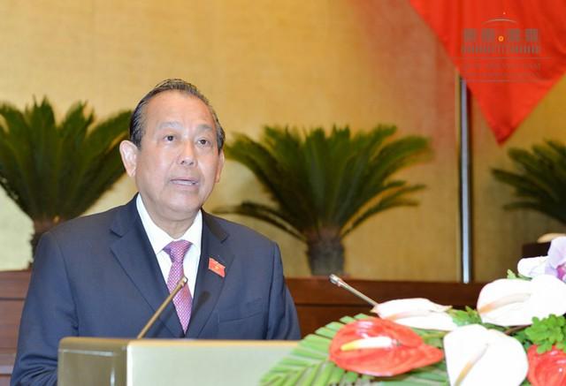 Phó Thủ tướng thường trực Trương Hòa Bình.