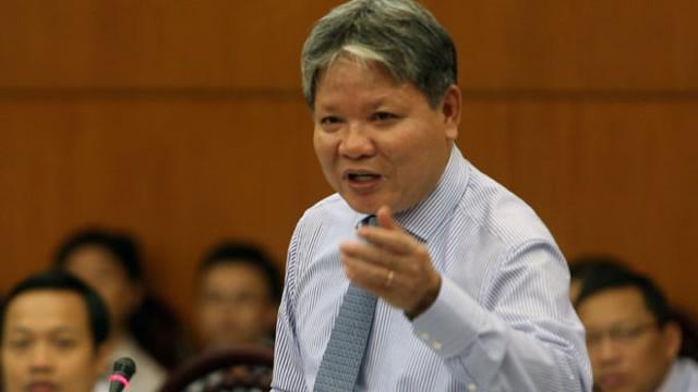 Ông Hà Hùng Cường - Bộ trưởng Bộ Tư pháp.