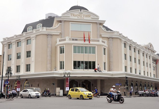 Tràng Tiền Plaza là một trong những công trình biểu tượng của Hà Nội.