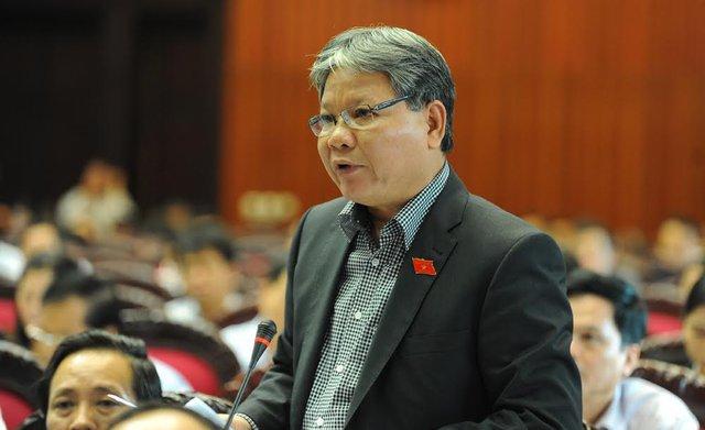Nguyên Bộ trưởng Tư pháp Hà Hùng Cường. Ảnh: Hoàng Anh/VietNamNet.