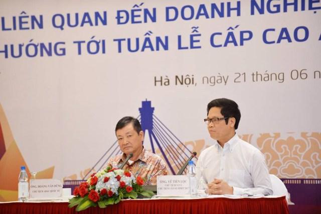 Ông Lộc nói Việt Nam là điển hình thành công của toàn cầu hóa. Ảnh: CHÂN LUẬN