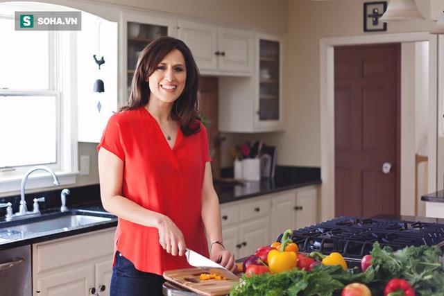 Chuyên gia dinh dưỡng Kristin Kirkpatrick.